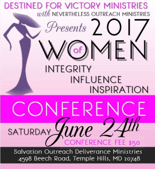 2017 Womens Conference Flyer